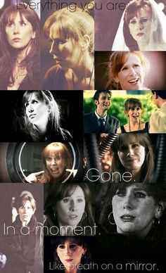 Donna :( so sad she lost all her memories with the Doctor. She was my favorite