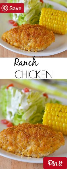 Ranch Chicken - We LOVE this chicken! It is a big favorite at our house. My kids love it my hubby loves it and I love it too  ( Did I say love it enough? #delicious #diy #Easy #food #love #recipe #recipes #tutorial #yummy @mabarto - Make sure to follow cause we post alot of food recipes and DIY we post Food and drinks gifts animals and pets and sometimes art and of course Diy and crafts films music garden hair and beauty and make up health and fitness and yes we do post women's fashion…