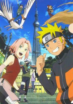 Here we have Naruto,Sakura,Kakashi,Hinata,Lee,Gaara,Sai and Shikamaru