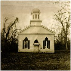 Rodney, Mississippi... I have actually been to this church before to see the cannon ball stuck in the wall as I was on my way to Natchez.