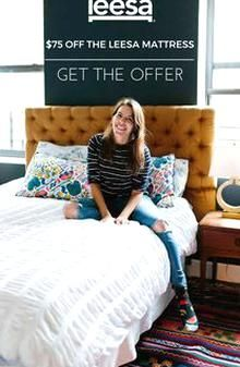 Try The Leesa Mattress For 100 Nights With Free Shipping And Easy Returns Its 100 American Made And Though It Soun In 2020 Kids Bedding Sets Leesa Mattress Red Bedding