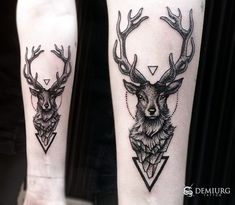 Tattoos generally symbolize a specific meaning. Here are a few geometric deer tattoo designs worth considering. Body Art Tattoos, New Tattoos, Hand Tattoos, Tattoos For Guys, Tattoos For Women, Simple Forearm Tattoos, Forearm Tattoo Men, Tattoo Ink, Tatoos