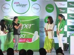 Launch Of The New Wishper Ultra With Prineeti Chopra