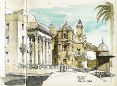 Málaga, Paseo del Parque   Flickr - Photo Sharing!