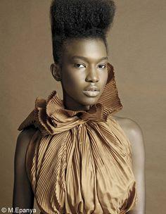 Mbathio Beye - French Model / Mannequin Francaise / Mannequin sénégalaise / Senegalese model / Mannequin africaine / African model / Miss Black France