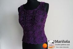 Looking for your next project? You're going to love free crochet tulip top by designer marifu6a. - via @Craftsy