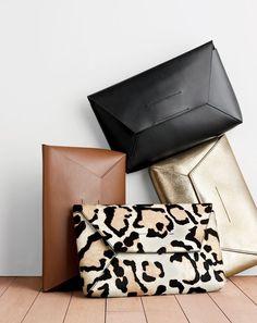 da2db4d03bde99 J.Crew women's leather envelope clutch, leather envelope clutch in crackled  gold foil and