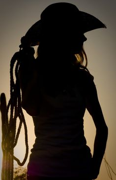 girl with horse silhouette - Google Search