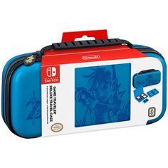Nintendo Switch Game Traveler Deluxe Zelda: Breath of the Wild Travel Case - Link Blue