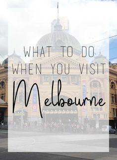Heading to the land down under? Check out Melbourne! My favourite Australian city, see what I suggest you do while you're there. Us Travel, Travel Tips, Travel Destinations, Melbourne Australia, Australia Travel, Stuff To Do, Things To Do, Travel Information, Weekend Getaways