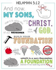 Family Scripture, Scripture Memorization, Scripture Study, Printable Scripture, Lds Seminary, Lds Scriptures, Fhe Lessons, Lds Church, Church Ideas