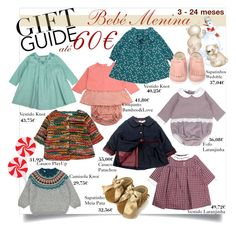 """""""Gift Guide - Baby Girl"""" by tuaptstore on Polyvore featuring Laranjinha, Patachou, Bebe, BabyGirl and giftideas"""