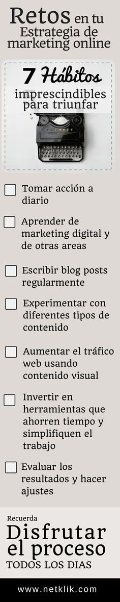 estrategias de marketing online checklist AND Take this Free Full Lenght Video Training on HOW to Start an Online Business