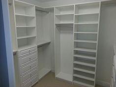 Naples Closets, LLC   Custom Closet Company   Naples, FL   White Walk In