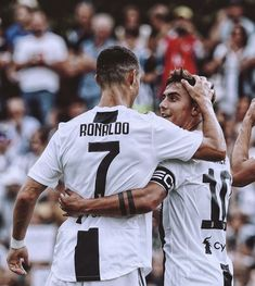 Cristiano ronaldo and paulo dybala. Current and future superstar Cristiano Ronaldo Juventus, Messi And Ronaldo, Juventus Fc, Neymar, Cr7 Wallpapers, Manchester United Chelsea, Manchester City, Portugal National Football Team, Soccer Post