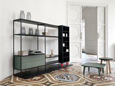 Offenes Raumteiler Bücherregal LITERATURA OPEN by Punt | Design Vicent Martínez