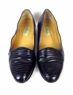 Bragano Shoes Leather Snakeskin Cole Haan Slip on Driving Loafers Italy 8 M | eBay