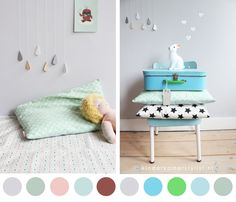 #DIY Rain drops #kidsroom Love it !