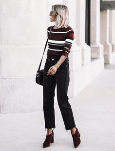 Black and brown never looked more chic.