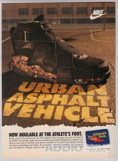 Nike air Raid 1992 vintage Ad CLASSIC Vintage Nike 65c16fb0f