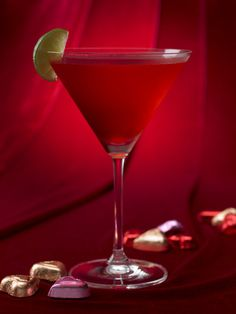 Valentine's Day Ultimate Kiss  2 parts SKYY Vodka  1 part X-RATED Fusion Liqueur  ½ part Grapefruit juice (ruby red is preferred)  ½ part Cranberry juice  ½ part Simple syrup