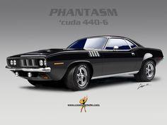 1971 Phantasm Cuda 440-6  [photoshop]