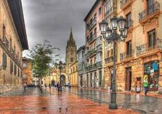 Oviedo, Asturias, Spain -- woody allen no se equivoco. The Places Youll Go, Places To See, Oviedo Spain, Asturias Spain, Places In Spain, Unique Hotels, Fantasy Places, Spain And Portugal, Beautiful Places To Visit