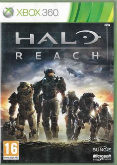 Halo: Reach is my Xbox favorite. I play that the most on Xbox. When Halo 4 comes out I will play that instead I think. Halo 5, Halo Game, Microsoft, Resident Evil, Best Games, Fun Games, Games Box, Halo Reach Xbox 360, Xbox One
