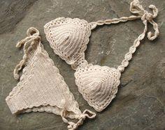 BRAZILIAN Bikini Crochet PATTERN. Crochet swimsuit by LittleNinni