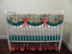 Baby Bedding Crib Set Ariadne New! : Just Baby Designs, Custom Baby Bedding Custom Crib Bedding Custom Nursery Bedding