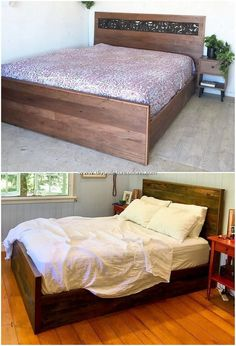 30 Stunning DIY Wood Pallet Creations for Your Home: Wood pallet ideas and projects are no doubt accessible in so tons of the variety and designs.