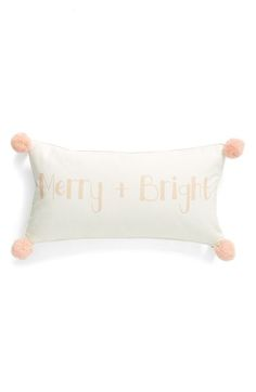 Brighten up your home for the holidays with this cute pillow!