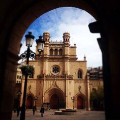 Santa Maria en la Plaza Mayor de #Castellon