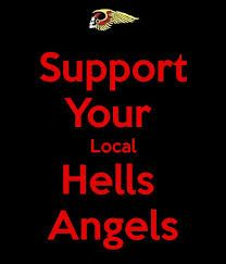 Afbeeldingsresultaat voor hells angels red and white support holland