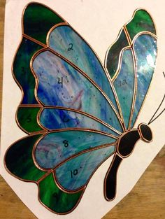 #39. Made-to-Order Butterfly Stained Glass Sun Catcher on The CraftStar @TheCraftStar #uniquegifts