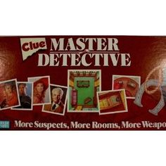Clue: Master Detective Rules and Differences