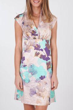 St martins unique print dress womens knee length dresses birdsnest
