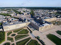 Palacio y Parque de Versalles Isla de Francia Francia.