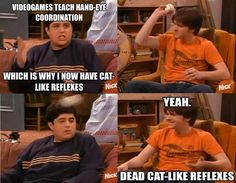 In Drake and Josh, Drake has always been my favorite for some reason