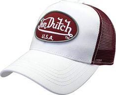 Von Dutch Trucker Hat with Logo Patch Baseball Cap ab083aafcbab