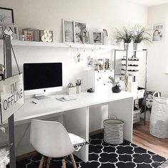Creative Workspace Beautiful Home Office Office Design – The post Creative Workspace Beautiful Home Office Off… appeared first on Woman Casual - Home Inspiration Home Office Space, Home Office Design, Home Office Furniture, Home Office Decor, Home Design, Furniture Design, Interior Design, Home Decor, Office Designs