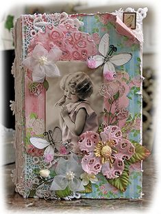 So Sweet Altered Book Box by Reneabouquets