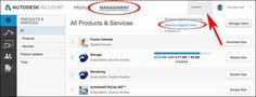 AutoCAD/LT Subscription Account Support
