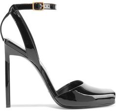 4e6a6e070 Saint Laurent - Edie patent-leather sandals