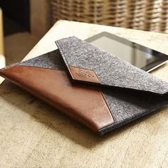 Ooze gentleman-ness with this ultra stylish Tablet Case. Gentleman, Leather Laptop Case, Notebook Case, Gadgets, Laptop Covers, Recycled Rubber, Ipad Sleeve, Handmade Accessories, Men's Accessories