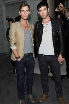British actors Luke and Harry Treadaway