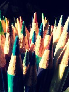 Colored Pencils photography colorful color pencils