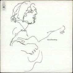 Album cover, David Bromberg's self-titled debut, 1971.