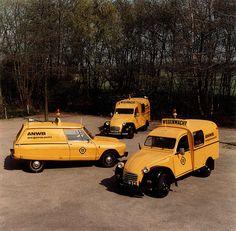 OG | 1973 Citroën 2CV AK 350 Fourgonnette / Van and Citroën Ami Service | #Wegenwacht #ANWB