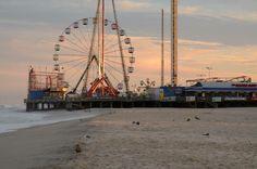 Wasn't it beautiful? #home #funtownpier #seasideheights #seaside #nj #newjersey #jerseyshore #ilivehere #local